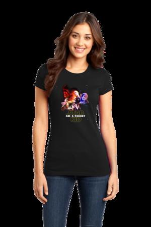 Team StarKid Ani the Parody Purple Friday 2015 Girly Black Stock Model Front 1
