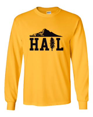 Portland U of M Club Hail Light Long Sleeve T-shirt