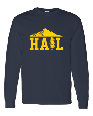 Portland U of M Club Hail Dark Long Sleeve T-shirt