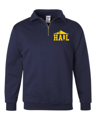 Portland U of M Club Hail Dark Quarter Zip