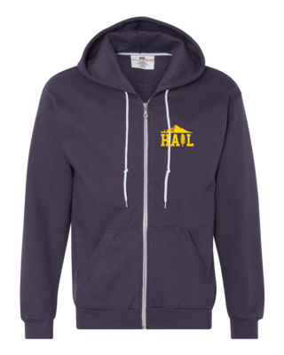 Portland U of M Club Hail Dark Zip Hood