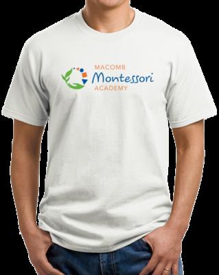 Macomb Montessori Academy Color Logo T-shirt