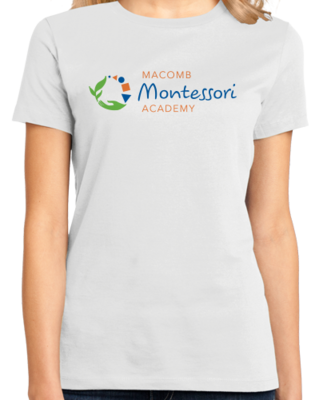 Macomb Montessori Academy Color Logo T-shirt