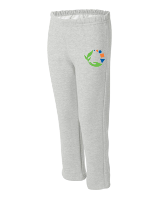 Macomb Montessori Academy Green, Blue, and Orange Logo Sweatpant