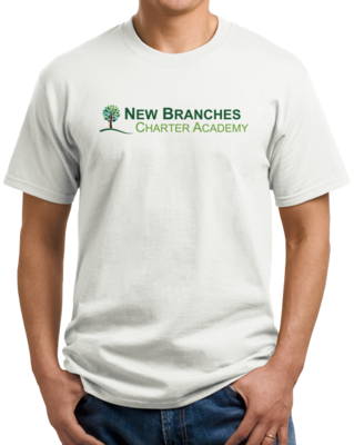 New Branches Color Logo T-shirt