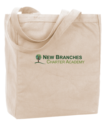 New Branches Full Color Logo Tote