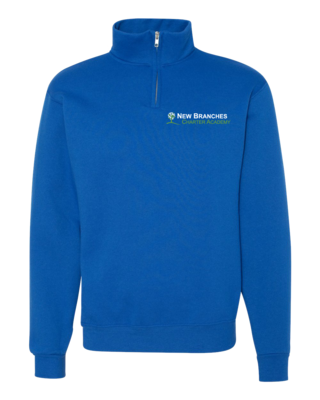 New Branches Logo Quarter Zip