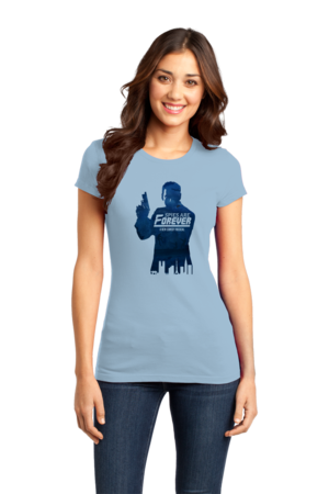 Spies are Forever - Tin Can Brothers Girly Light blue Stock Model Front 1