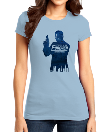 Spies are Forever - Tin Can Brothers Girly Light blue Stock Model Front 1 Thumb