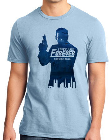Spies are Forever - Tin Can Brothers Standard Light blue Stock Model Front 1 Thumb