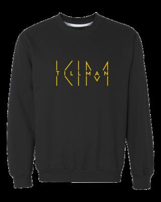 Kim Tillman Gold Logo Crewneck Sweatshirt