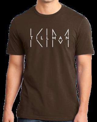 Kim Tillman White Logo T-shirt