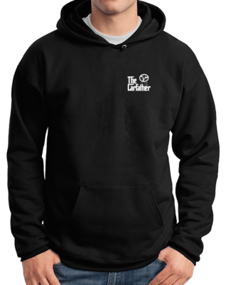 The Carfather Black Pullover Hoodie