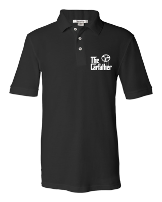 The Carfather Black Polo