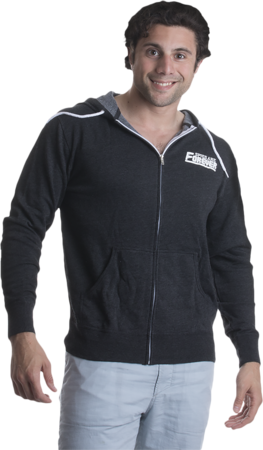 Spies Are Forever Zip Hood Model Front