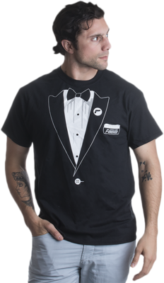 Spies Are Forever Tuxedo T-Shirt