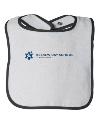 Hebrew Day School Color Logo Infant Bib