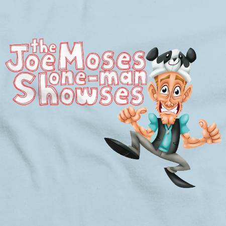 Joe Moses One Many Showses T-Shirt Light blue Art Preview