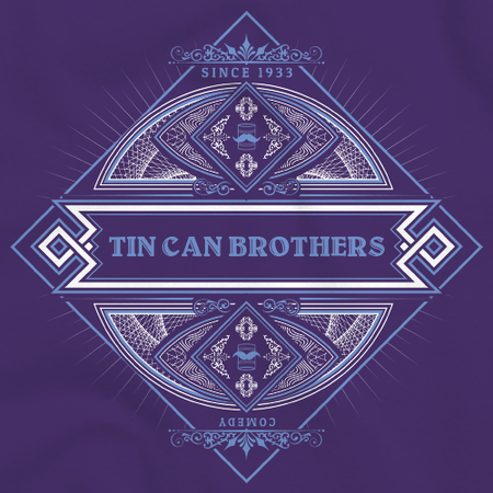 Tin Can Brothers GeekyCon 2016 Purple Art Preview