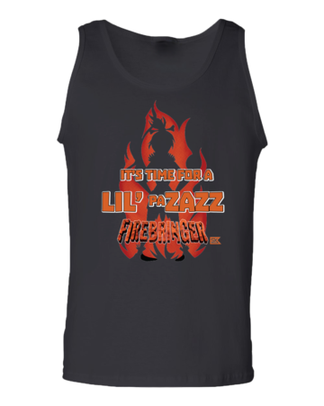 Firebringer Pazazz Tank Top Black Blank with Depth