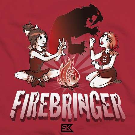 Firebringer Shadow Puppet Red Art Preview
