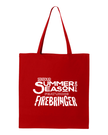 Firebringer Summer Season 2016 Tote Red Blank Flat