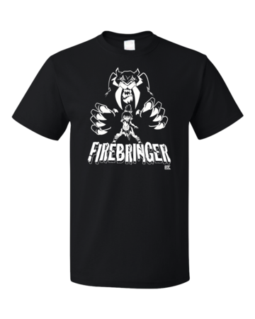 Firebringer GeekyCon 2016 Standard Black Blank with Depth