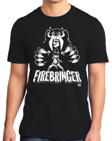 Firebringer GeekyCon 2016 Standard Black Stock Model Front 1 Thumb