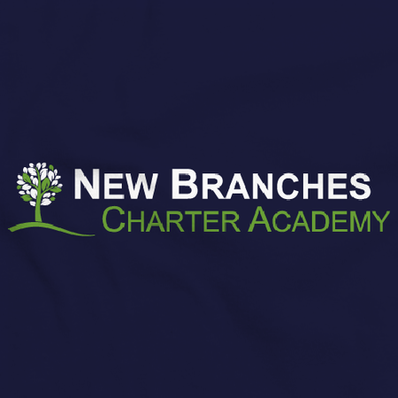 New Branches Logo Navy Art Preview