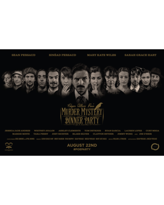 Poe Party Cast Lineup Poster