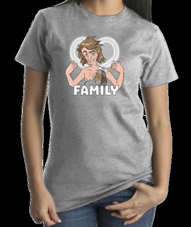 StarKid Firebringer Smelly Balls Family T-shirt Standard Grey Female Front 4 Thumb