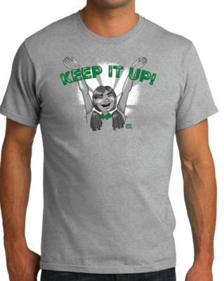 "StarKid Firebringer Tiblin ""Keep It Up"" T-shirt"