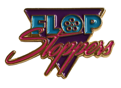 Flop Stoppers Logo Pin