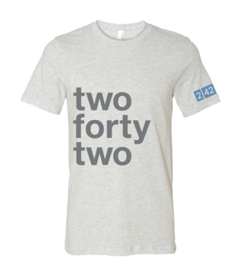 242 Wording Design T-Shirt