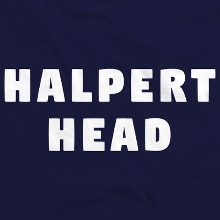 Movies, Musicals, and Me - Halpert Head Navy Art Preview