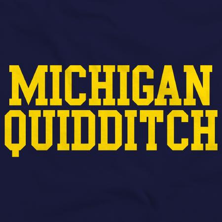 Michigan Quidditch Navy Art Preview