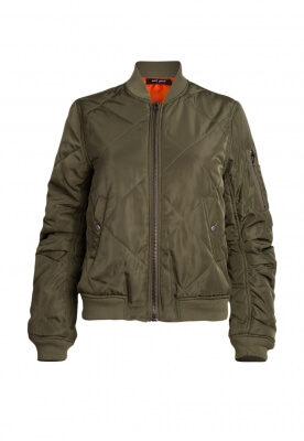 CENTRAL LANE QUILTED BOMBER JACKET