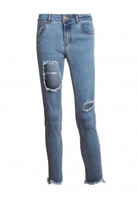 FLAWLESS DISTRESSED DENIM JEANS