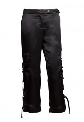 BREAKDOWN SATIN PANTS