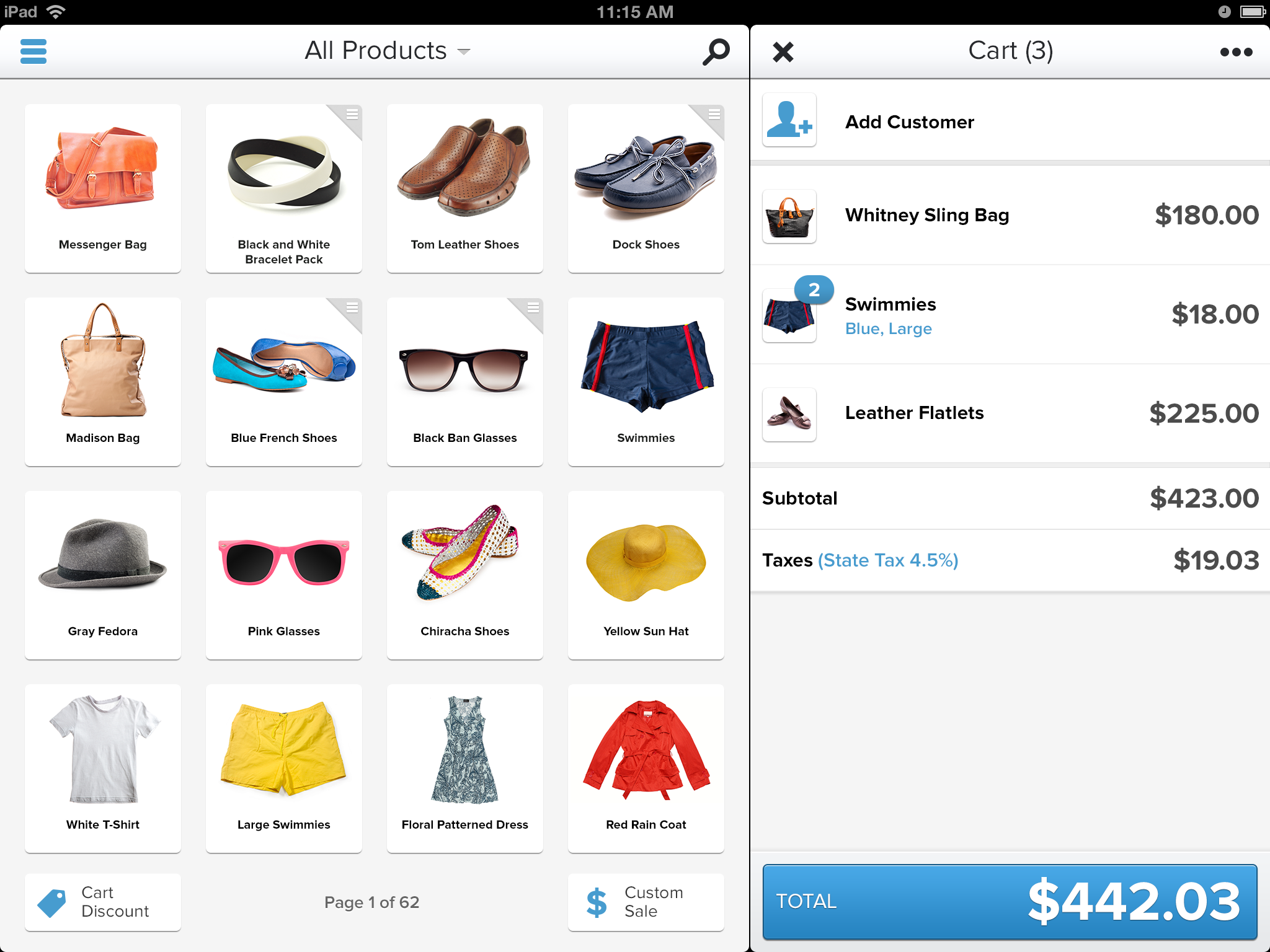 Point of Sale System for iPad - Shopify POS App