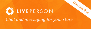 LivePerson Live Chat + Messaging