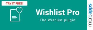 Wishlist PRO