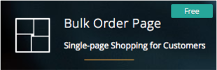 Bulk Order Page