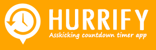 Hurrify - Countdown Timer