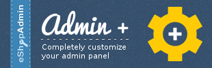 Admin+ by eShopAdmin
