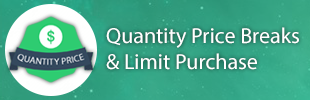 Quantity Price Breaks & Limit Purchase
