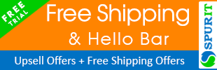 Upsell Motivator - Free Shipping Bar