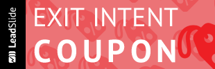 Exit Intent Coupon Popup