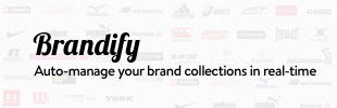 Brandify - Auto-manage your brand collections in real-time