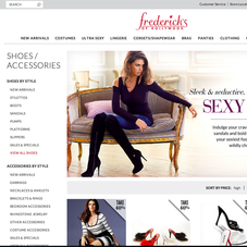 Frederick's of Hollywood - http://www.fredericks.com/
